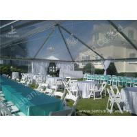 Cheap Noble and Bright Fabric Luxury Wedding Marquee for Events and Parties on Grassland wholesale