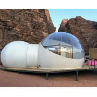 Cheap 6M diameter Outdoor Inflatable Hotel Bubble Tent Clear Plastic Dome Tent Bubble House for sale