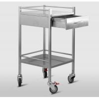 Cheap Hospital dressing trolley,laboratory stainless steel medicine cart with drawer RCS-H0Z30 for sale