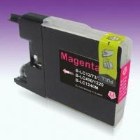 China Ink Cartridge, Compatible with Brother's Printers and 12mL Capacity, Comes in Magenta Color on sale