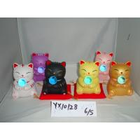 Golden Ceramic Cat Piggy Bank