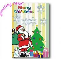 China Paper Christmas Greeting Card, Custom Printable Brithday Party Invitation on sale