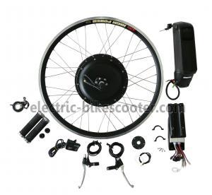 China 38Km / H Electric Bike Conversion Kits 26 Inch Wheel 16Kgs Disc Brake Powerful Rear Gear Motor on sale
