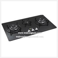 3 Burners Painting Tempered Toughened Glass Gas Stove Tops