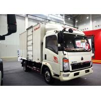Cheap Light Duty Commercial Trucks / Delivery 17 Foot Box Truck With Low Fuel Consumption for sale