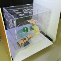 Cheap Costom figure high transparent acrylic display case/acrylic hamster cage/acrylic pet cage wholesale