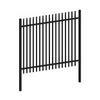 Buy cheap Garrison Fencing (China Supplier) | Black Color Garrison Fence from wholesalers