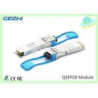 Cheap 100G QSFP28 Transceivers SR4 MMF 850nm Reach 100M , MTP / MPO connector for sale