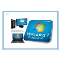 Cheap Windows 7 Professional Full Retail Version 32 & 64 Bit With Genuine Key wholesale