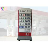 Cheap Segment Led Gas Price Sign , IP65 Promotion Electronic Gas Price Signs for sale