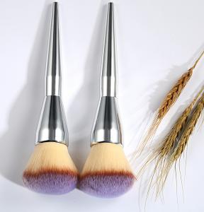 Cheap Oval Cosmetic Foundation Brush 19 cm Total Length 4.5 cm Hair Length for sale
