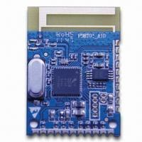 Cheap Bluetooth Module v2.1/EDR Specification System with SBC Encoder for Streaming Audio for sale
