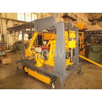 Cheap Sinovo Crawler Core Drilling Rig With Diesel Engine And Drilling Depth 180m for sale
