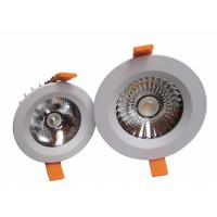 Cheap Recessed COB LED Downlight 240v IP44 100 lm / w 8w , LED Down Light Fixtures for sale