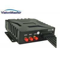 China IP67 4 Channel Mobile Dvr , Vehicle Dvr System With 2TB SSD Aviation Connector on sale