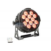 Buy cheap Energy Saving RGB LED Stage Light With Battery 12x12watt Master - Slave Control from wholesalers