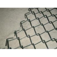 Quality Commercial / Residential Vinyl Chain Link Fence 11Gauge 2 3 / 8'' for sale