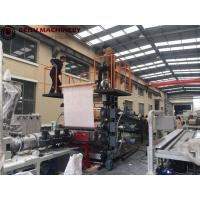 Cheap PLC Control PVC Plastic Sheet Production Line With Electric - Magnetic Heater for sale
