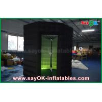 China Eight Angle Led Inflatable Photo Booth Tent Photobooth Props with Door Curtain on sale