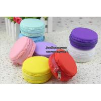 Cheap Macarons christmas promotion gift silicone lady purse wallet for sale