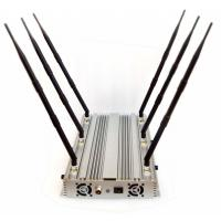 China Adjustable Powerful 6 Bands Desktop WiFi GPS 3G Phone Jammer Up to 100 Meters 70W on sale