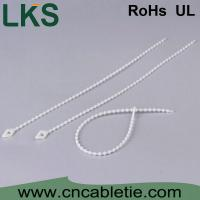 China LKS-120KT nylon 66 Bead cable ties with different color on sale