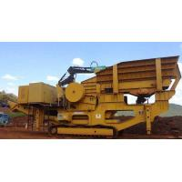 Cheap Capacity 100 t/h Mobile Crushing &Screening Plant Jaw crusher for sale