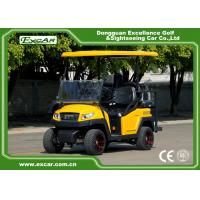Buy cheap Yellow Electric Hunting Carts With Roof & Windshield , Max Speed 25 km/h from wholesalers