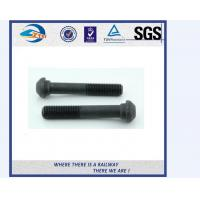 Cheap ZhongYue railway DIN 933 oval head bolts screw rail bolts with competitive price for sale