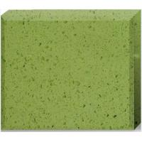 Cheap Olive Green Quartz Stone Countertops Color Optional Customized Size for sale