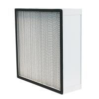 Cheap Aluminum Alloy Frame HEPA Air Filter Size 610 * 610 * 292mm Or Customized for sale