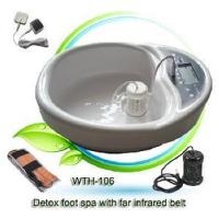 China Ionic Cleanser Detox SPA with Far Infrared Ray Therapy Belt on sale