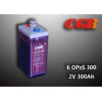 Cheap 2V 6 OPzS300 Rechargeable Tube Opzs Solar Batteries UPS Telecom Application wholesale