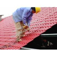 Cheap plastic PVC+ASA easy installation steel structure roofing tile for sale