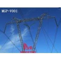Cheap V type transmission line tower for sale