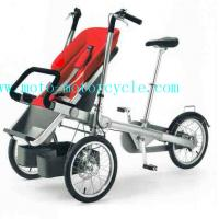 Cheap Foldable Plastic Mother And Baby Stroller Bike , 107*28*68 cm for sale