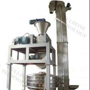 Cheap Carbon Black / Zinc Oxide Dry Granulator Machine 5 - 80Mesh Granule for sale