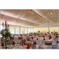 Cheap Aluminum Structure Wedding Decoration Tent , 200 People Wedding Party Tent Rentals wholesale