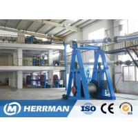 Cheap Cantilever Type Rubber Extrusion Line , Cable Vulcanizing Machine 300kg/H Max Output for sale