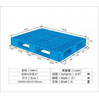 Cheap HDPE / PP Standard Recycled Plastic Pallets Temporary Mobile Platforms 1250*1000*150mm for sale