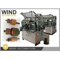 Buy cheap Conventional Commutator Armature Coil Winding Machine Dual Flyer For Slot Com from wholesalers