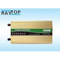 Cheap 2000W Vehicle Power Inverter Peak Power 4000W Inverter With 6 High Protects wholesale
