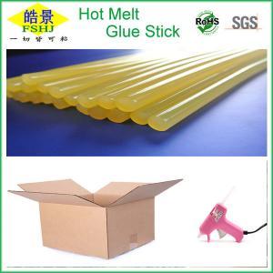 Cheap Perfect Carton Sealing Colored Hot Melt Glue Sticks , Hot Glue Gun Sticks wholesale