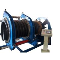 Cheap 600MM Butt Fusion Welding Corrugated Pipe Welding Machine For Spiral Texture PE Pipe for sale