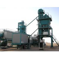 Cheap High Pressure Atomizing Burner Mobile Asphalt Plant With 25t / H WAM Screw Conveyor for sale