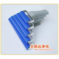 Cheap High Quality Aluminium Alloy Handle Cleanroom Dust Removal Sticky Roller Silicon Roller for sale