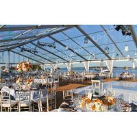 Buy cheap Transparent Fabric Aluminum Frame Tent Outdoor Wedding Marquee Party Event from wholesalers