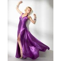 Cheap Blue Draped Strapless Formal Bridesmaid Dress (BD10034) for sale