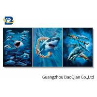 Cheap Shark Ocean Animal Flipped Poster , 3D Changing Pictures Flipped Indoor Decor Art for sale