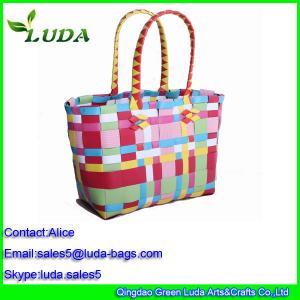 Cheap PP tube handbags for shopping for sale